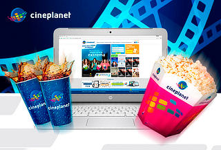 Cineplanet ONLINE + Combo Gigante