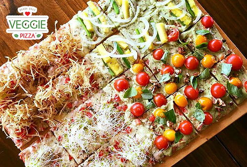 ¡Come Rico y Sano con Veggie Pizza!