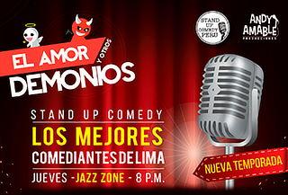 """2X1 Show de Humor """"El Amor y Otros Demonios"""""""