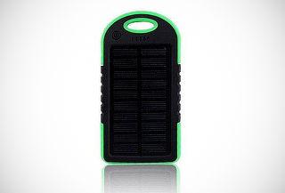 Cargador Solar Portátil Impermeable 5.000 mAh