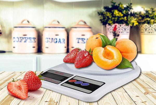 Balanza de cocina digital con pantalla lcd ofertop - Balanza cocina digital ...
