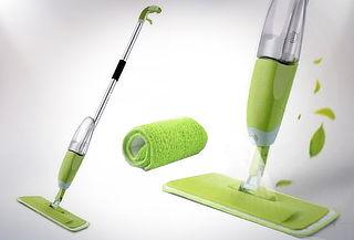 ¡Limpia Fácilmente y de Manera Efectiva! Trapeador con Spray