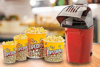 ¡Práctico! Máquina para hacer Pop Corn Maker