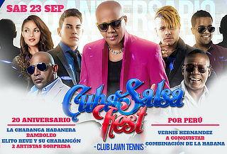 ¡ÚLTIMO DÍA! Entradas para Cuba Salsa Fest ¡Corre!