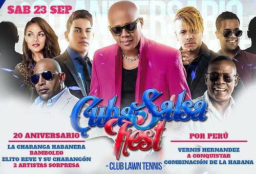 ¿Y como se pide la Salsa? Sa Sa Sa SALSA ¡CUBA SALSA FEST!