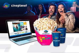Cineplanet ONLINE + Combo Gigante