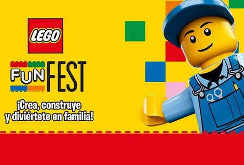 ¡No te lo Pierdas! LEGO Fun Fest Elige Día y Horario