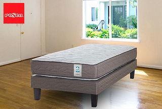 Cama Europea Rosen® New Style 2 - King + 2 Almohadas + Envío