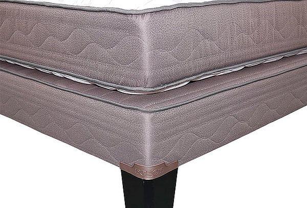 Cama Europea Rosen® New Style 2 Queen + 2 Almohadas + Envío