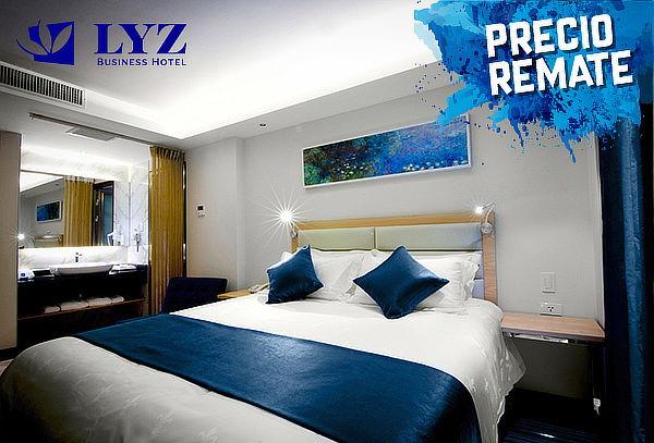 ¡Noche de Romanticismo para 2! en Lyz Business Hotel