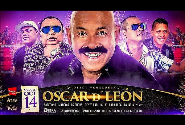 ¡ÚLTIMO DÍA! Oscar de León en Concierto ¡Corre!