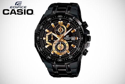 04484206b7e5 Elegante y Casual! Reloj Casio Edifice EFR-539BK-1AV
