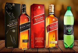 Packs de Whisky Johnnie Walker Red o Black y Más en Dely-Bar