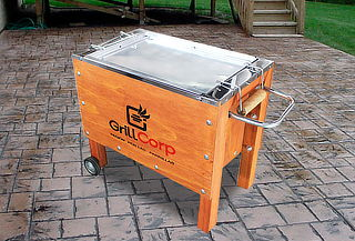 Caja China Chica Modelo Premium GrillCorp