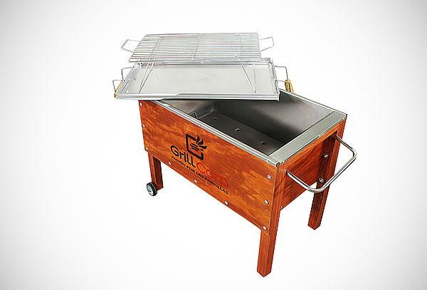 Caja China Mediana Modelo Premium GrillCorp