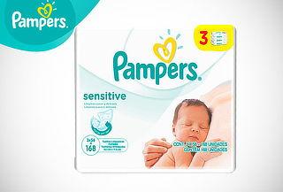 ¡Indispensable! Toallitas Húmedas Pampers Sensitive