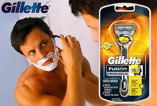 Máquina p/ Afeitar Gillette Fusion Proshield + Cartucho