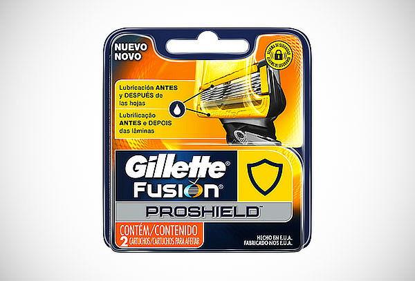 Cartuchos para Afeitar Gillette, Fusión Proshield Flexball