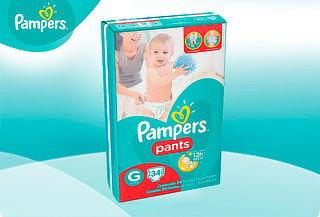 ¡Para tu Engreído! Pañales Pampers® Pants G 34 unid.