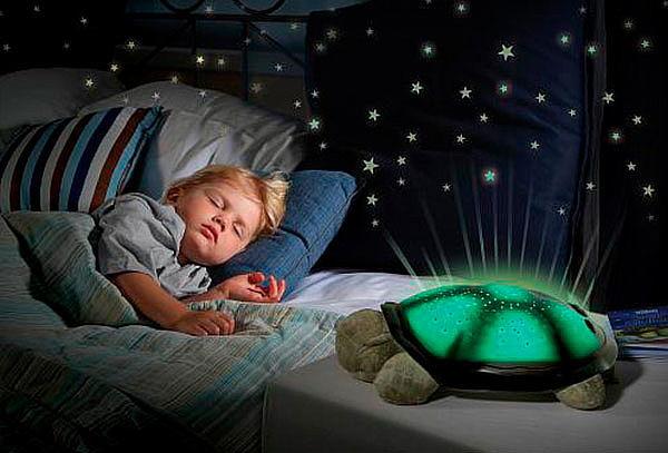 Tortuga Peluche Musical con Lámpara Proyector de Estrellas
