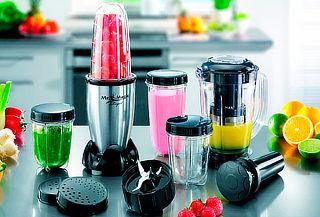 Set Completo Licuadora Extractora Incluye Vasos,Tapas y Más