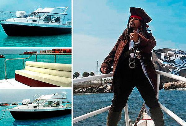 ¡Piratas! Show Pirata + Nado con Lobos y Más