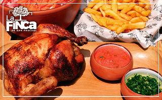 All you can eat de pollo a la brasa + papas fritas Y MAS