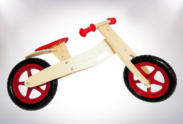 ¡Clásico! Bicicleta de Madera para Niños