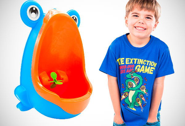 ¡Al Baño! Urinario Portátil para Niños