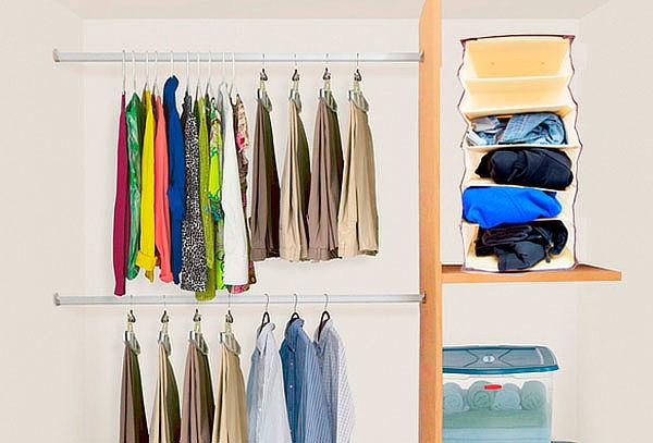 No m s desorden organizador de cl set para vestuario for Organizadores para closet