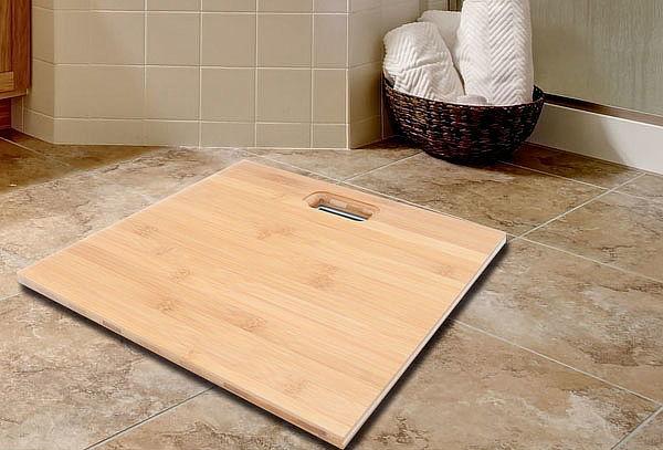 Balanza Digital para Baño con Plataforma de Bambú