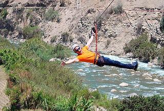 ¡Extremo! Canopy en Lunahuaná