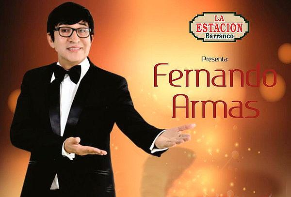 """02 Entradas al Show """"De Ida y Vuelta con FERNANDO ARMAS"""""""