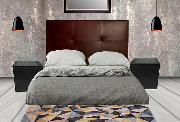 ¡Renueva tu Dormitorio! Cabecera Modelo Kano + 2 Veladores