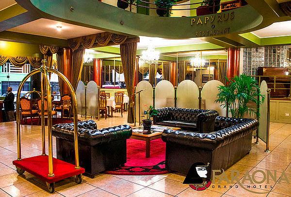 ¡FARAONA GRAND HOTEL para 2! Habitación +Desayuno +Piscina