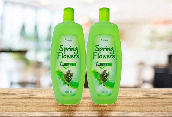 ¡Sorprende y Cautiva! Colonia Spring Flowers 1000ml x 2 Und