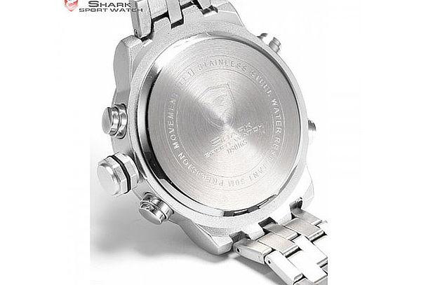 ¡Regalo Perfecto! Reloj Shark Sawback Angel B LED Dual