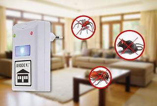 Repelente Electrónico para Ratones y Cucarachas