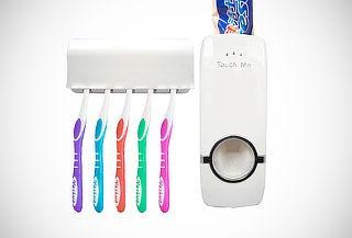 Dispensador de Pasta Dental + Portacepillo Touch Me