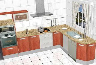 Asesoramiento de Diseño 3D en Diseño de Cocina