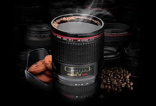 ¡Diseño Único! Taza Mug Diseño de Lente Fotográfico