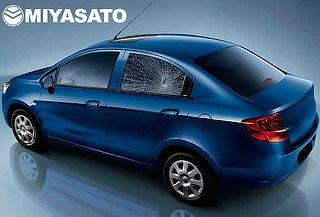 Láminas de Seguridad para Auto o Camioneta con MIYASATO