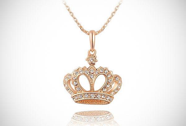 1b74c3f47d32 Collar + Dije de Coronita ¡Luce como una Reina! Collar + Dije de Coronita