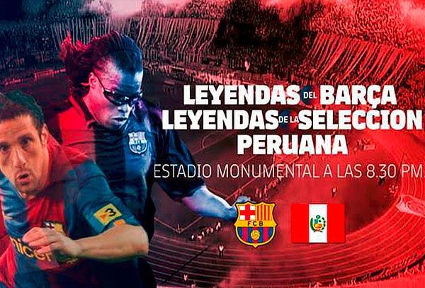 NO TE PIERDAS, Perú vs Barcelona en el Monumental