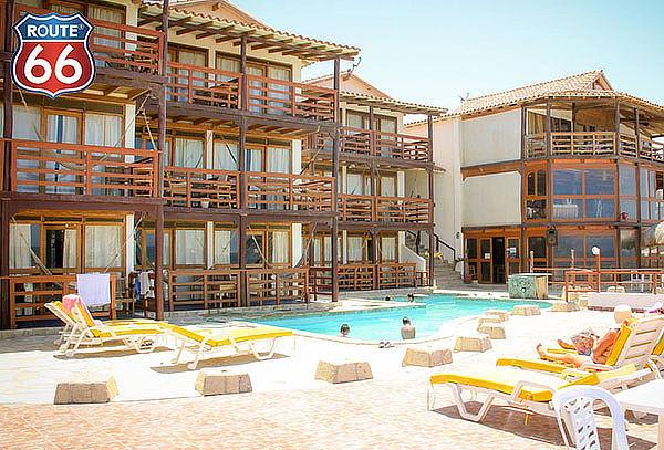 ¡Escapada Frente al Mar! 3D/2N en Hotel Route 66 - Vichayito
