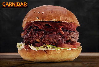 ¡Carnibar! Las Mejores Hamburguesas + Bebida