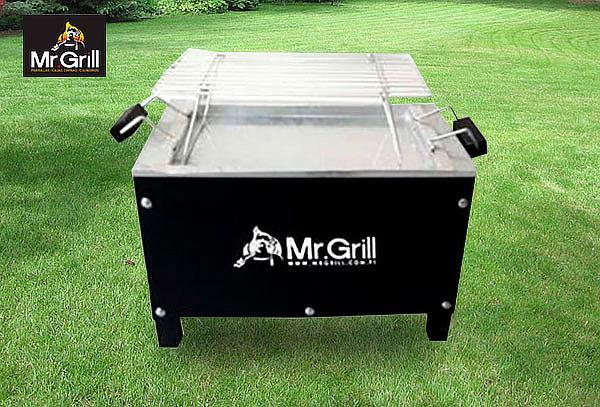 Caja China Mr Grill® Black + Parrilla Retiro Inmediato