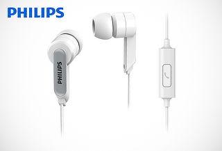 ¡Disfruta la Música! Audífonos Philips con Micrófono