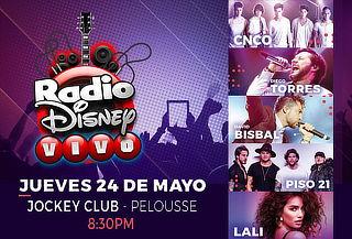 Concierto Radio Disney ¡24 de Mayo! ¡Últimas Horas!