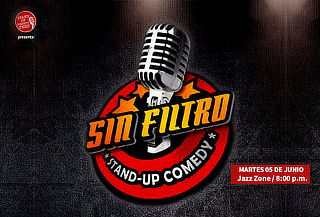 """2x1 Show de Humor """"Sin Filtro"""" - Jazz Zone Miraflores"""